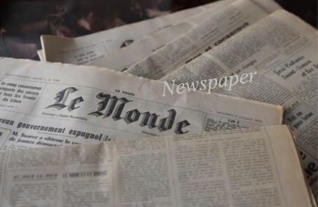 アンティークの新聞